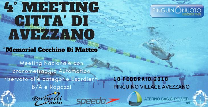 4° meeting di Avezzano