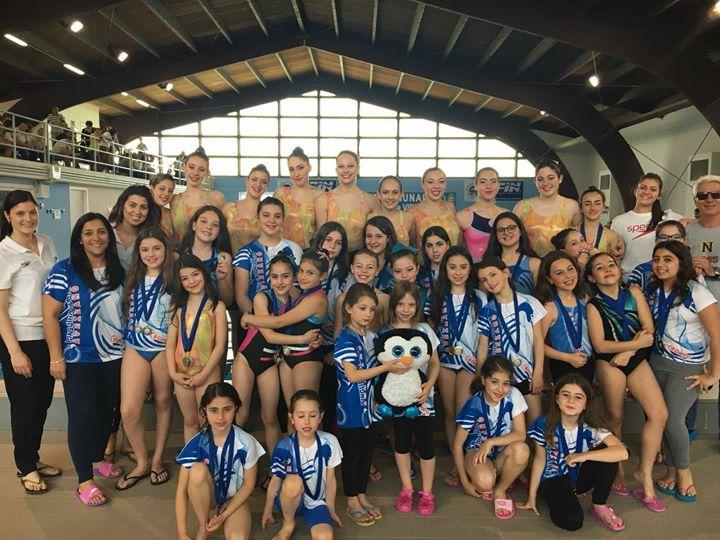 Grande evento nella piscina di Sant'Egidio con la terza prova interregionale confsport di sincronizzato.…
