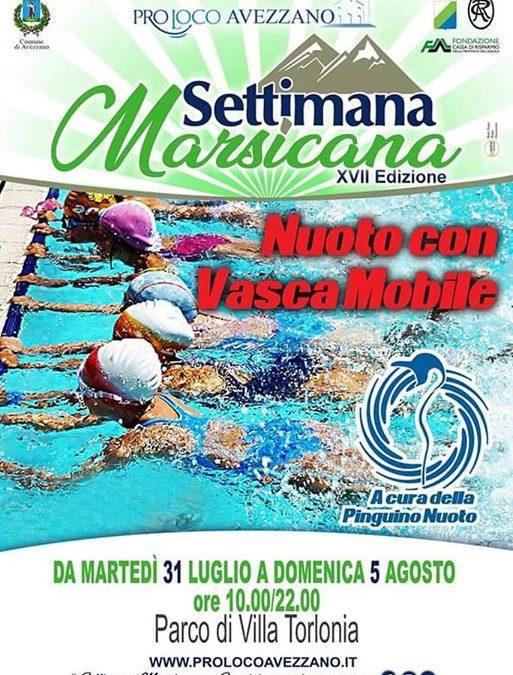Oggi al parco di Villa Torlonia #acquafitnesspinguino in trasferta ore 18:00 vasca mobile Pinguino…