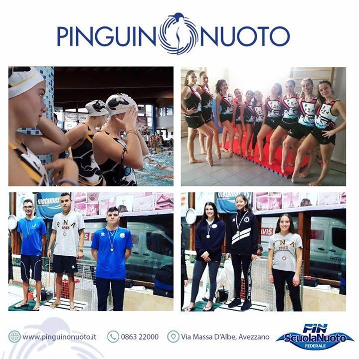 #RisultatiPinguino Risultati ad Avezzano: Campionato Regionale di Nuoto Sincronizzato Obbligatori 1^ Gruppo Avezzano, 18…