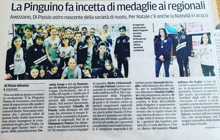 Oggi sul giornale Il Centro parlano di noi!!!