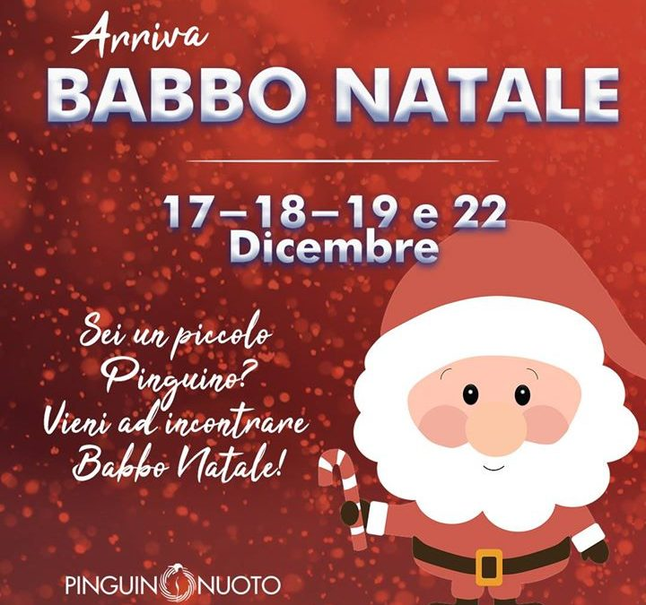 Babbo Natale sarà alla #Pinguino! ️ Appuntamento per il 17,18,19 e 22 Dicembre!