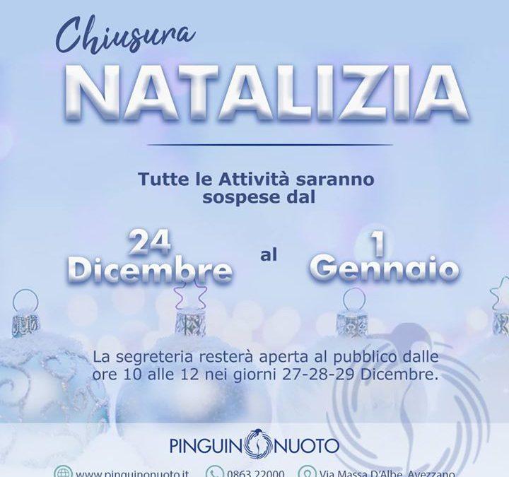 #Pinguino va in Vacanza Ci vediamo il 2 Gennaio!