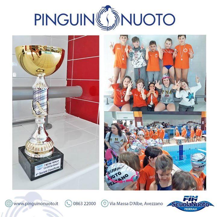 3° Meeting Propacup – San Giovanni Teatino Pinguino – 4° squadra classificata. Squadra presente…